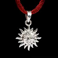 Surya Locket in Pure Silver - Design II