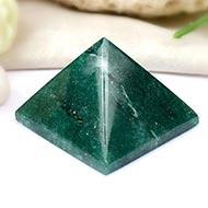 Green Jade Pyramid - 140 gms