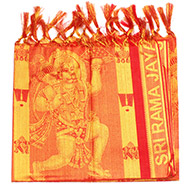 Hanuman Shawl in Art Silk