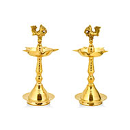 Brass Samai - Set of 2 - I