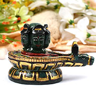 Blessing of Pashupatinath in Green Jade