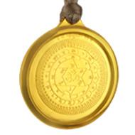 Mahasudarshan Yantra Locket - Gold Plated