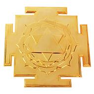 Siddh Meru Saraswati Yantra - Gold Polish