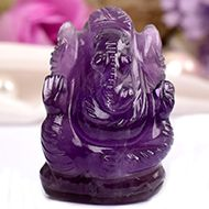 Ganesha in Amethyst - 27 gms