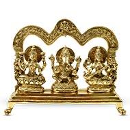 Laxmi Ganesh Saraswati Idol - II