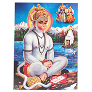 Lord Ram Bhakt Hanuman Photo - Large
