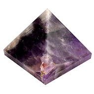 Pyramid in Natural Amethyst - 160 gms