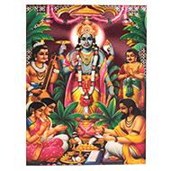 Lord Satyanarayan Photo - Medium
