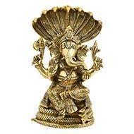 Ganesha in Brass - XIV