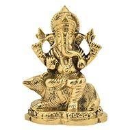 Ganesha in Brass - XIII