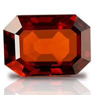 Hessonite Garnet - Gomed - 6.50 carats - Emerald