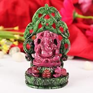 Ruby Ganesh - 1040 carats