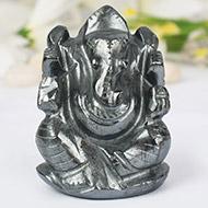 Hematite Ganesha - 145 gms