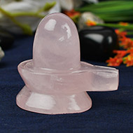 Rose Quartz Shivling - 85 gms