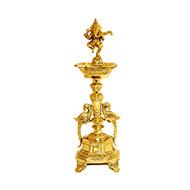 Ganesh Diya in Brass - I