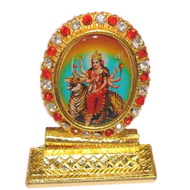 Divine Durga in brass - Design I