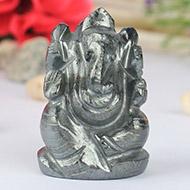 Hematite Ganesha - 123 gms