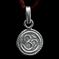Om Locket in Pure Silver - Design XLI