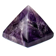 Pyramid in Natural Amethyst-II