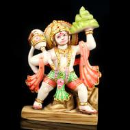 Lord Hanuman marble idol