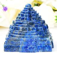 Lapis Lazuli Shree Yantra - 240 gms