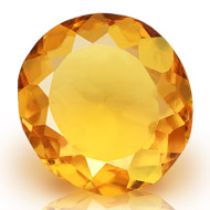 Yellow Citrine - 5.85 carats - Round