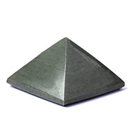 Pyramid in Grey Agate - 57 gms