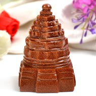 Shree Yantra in Sunstone - 91 to 100 gms