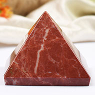 Pyramid in Red Jasper