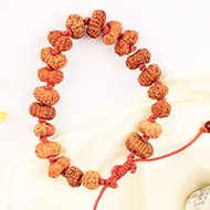 14 mukhi Mahabali Hanuman Bracelet in thread- Java