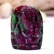 Ruby Ganesha - 64.55 carats