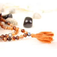Brown Agate Rosary - 8mm