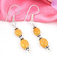 Yellow Sapphire earring-Design II