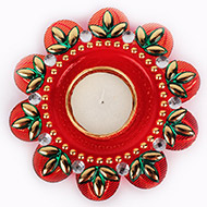 Flower Candle Decorative - I