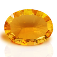 Yellow Citrine Superfine Cutting - 3 to 4 carats - Oval