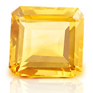 Yellow Citrine - 5.20 carats - Emerald