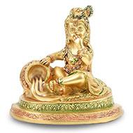 Bal Krishna in Brass