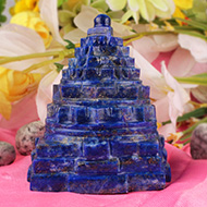 Lapis Lazuli Shree Yantra - 308 gms