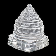 Shree Yantra in Sphatik - 28 gms
