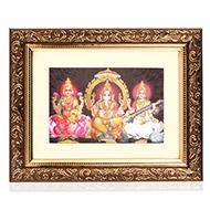 Lakshmi Ganesh Saraswati Frame