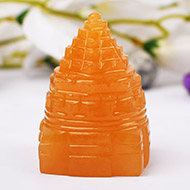 Yellow Jade Shree Yantra - 115 gms