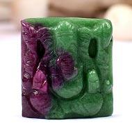 Ruby Ganesha - 36.25 carats