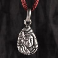 Shiva Locket in Pure Silver