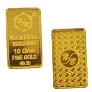 10 gm Pure Gold Bar - 24  Carat