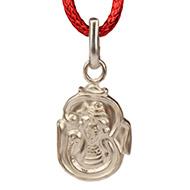 Om Shiva Locket in Pure Silver - Design - VIII