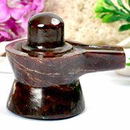 Gomed Hessonite Shivlinga - 158 gms