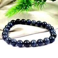 Blue Sapphire Bracelet - Round