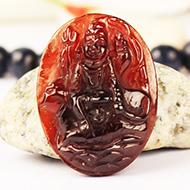 Shiva in Gomed - 27.55 carat