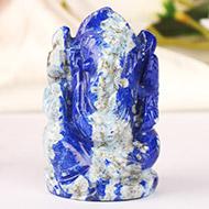 Lapis Lazuli Ganesha - 97  gms