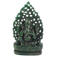 Green Jade Ganesha - 1788 gms